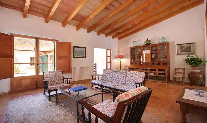 Wohnraum Finca Mallorca 6 Personen PM 3405