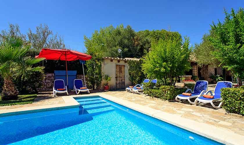 Poolblick Finca Mallorca 6 Personen PM 3405