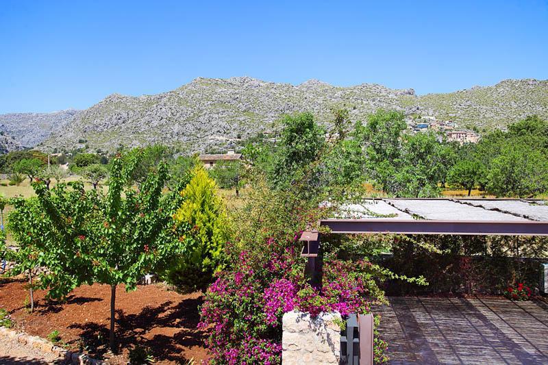 Blick von der Finca  Mallorca Norden PM 3406
