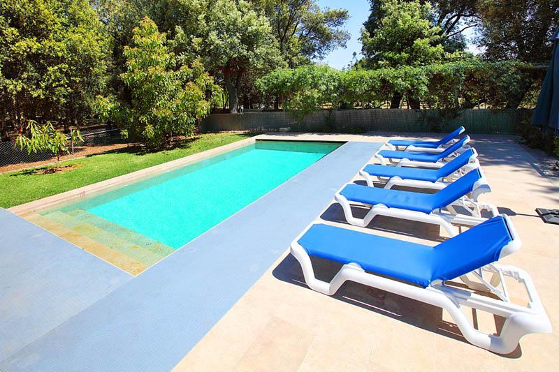 Pool der Ferienfinca Mallorca Norden PM 3406