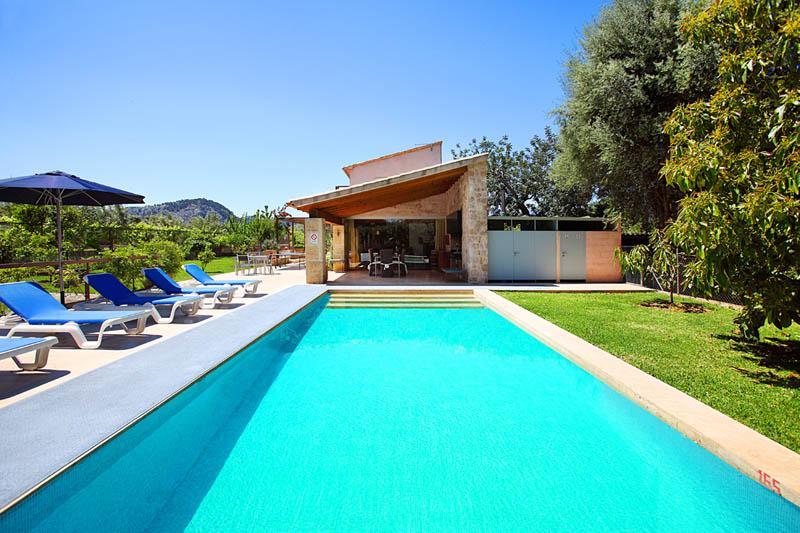 Pool und Finca Mallorca PM 3406 bei Pollensa