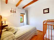 Schlafzimmer des exklusiven Ferienhauses Mallorca Norden PM 3406
