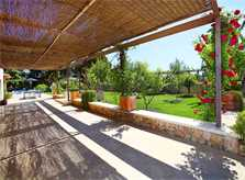 Terrasse der Finca  Mallorca Norden PM 3406