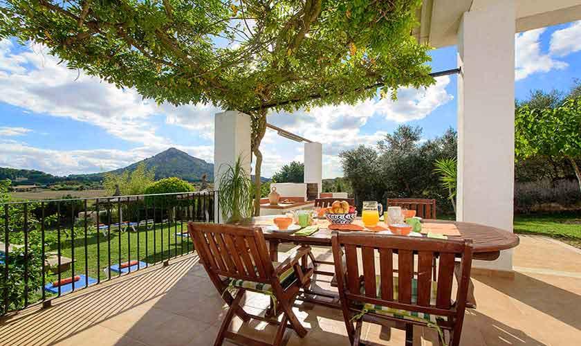 Terrasse Finca Mallorca 6 Personen PM 3419
