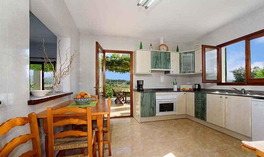 Küche Ferienhaus Mallorca 6 Personen PM 3419