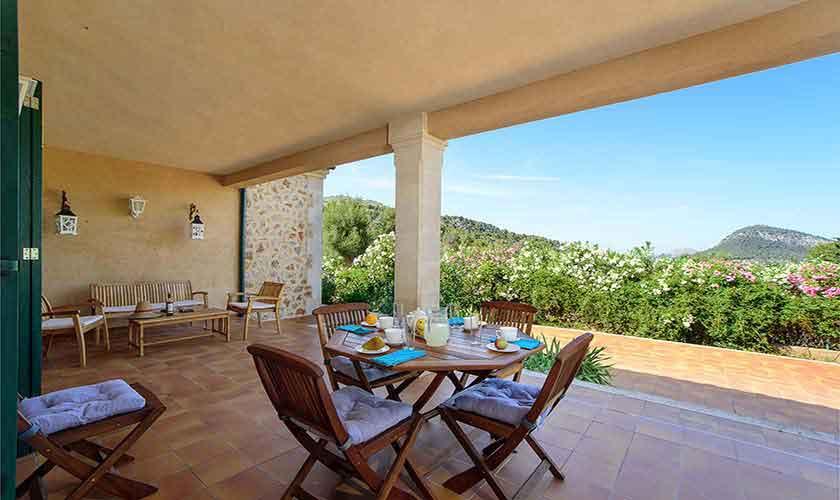 Terrasse Ferienhaus  Mallorca 6 Personen PM 3424