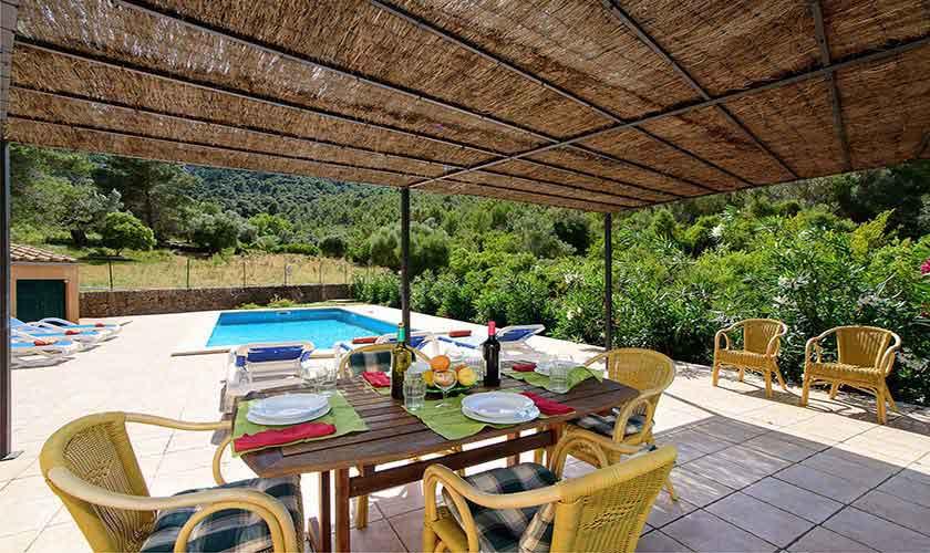 Terrasse Finca Mallorca 6 Personen PM 3424