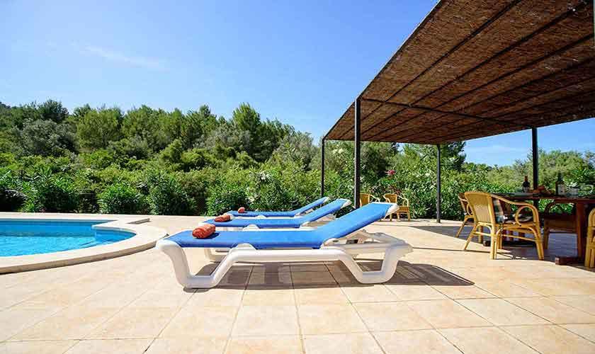Pool und Terrasse Mallorca 6 Personen PM 3424