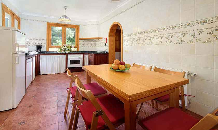 Küche Ferienhaus  Mallorca 6 Personen PM 3424
