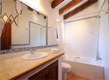 Bad 2 Finca Mallorca PM 3426 für 6-7 Personen mit Pool