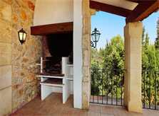 Barbecue Finca Mallorca PM 3426 für 6-7 Personen mit Pool