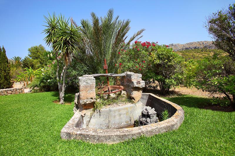 Garten Ferienfinca Mallorca PM 3426 für 6-7 Personen mit Pool