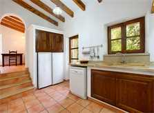 Küche 2 Finca Mallorca PM 3426 für 6-7 Personen mit Pool