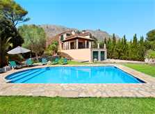 Pool und Finca Mallorca PM 3426 für 6-7 Personen mit Pool