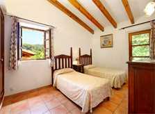 Schlafzimmer Ferienfinca Mallorca für 6-7 Personen mit Pool PM 3426