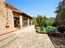 Terrasse Ferienhaus Mallorca PM 3426 für 6-7 Personen mit Pool