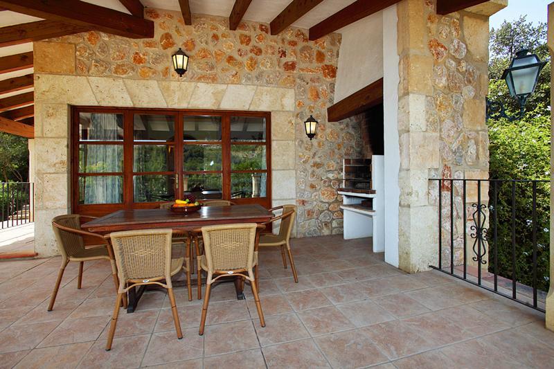 Terrasse Finca Mallorca PM 3426 für 6-7 Personen mit Pool Cala San Vicenc