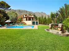 Rasen und Finca Mallorca PM 3426 für 6-7 Personen mit Pool