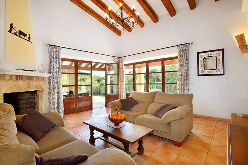 Wohnraum Ferienhaus Mallorca PM 3426 für 6-7 Personen mit Pool