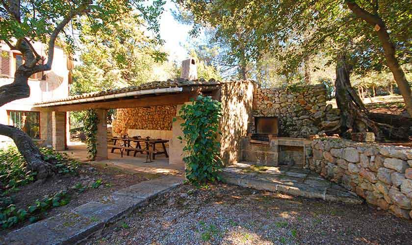 Terrasse Ferienhaus Mallorca PM 3431