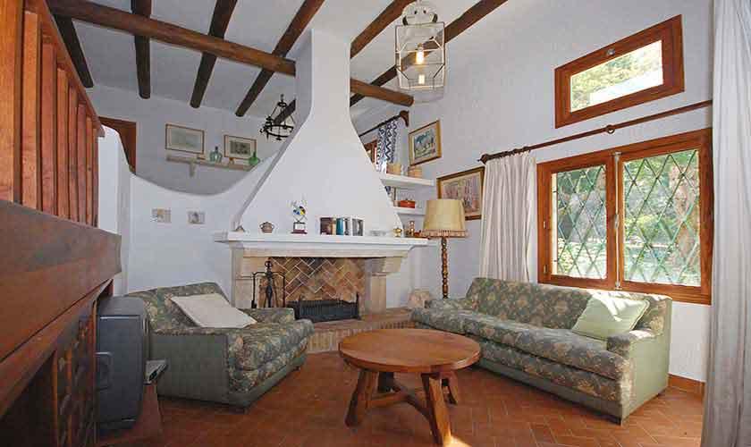 Wohnraum Ferienhaus Mallorca PM 3431