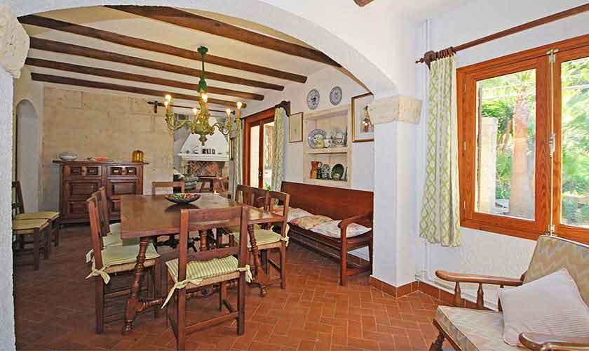 Esstisch Ferienhaus Mallorca PM 3431