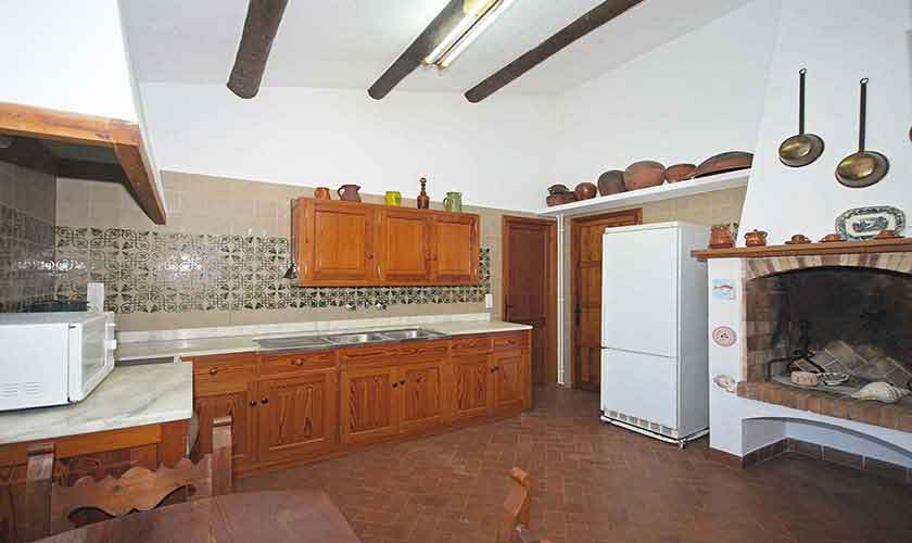 Küche Ferienhaus Mallorca PM 3431