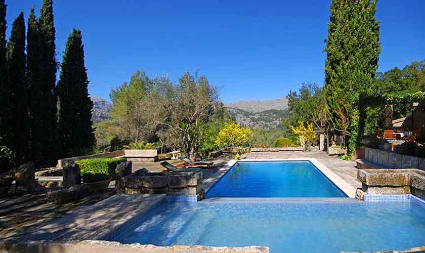 Pool und Terrasse  Ferienhaus Mallorca PM 3431