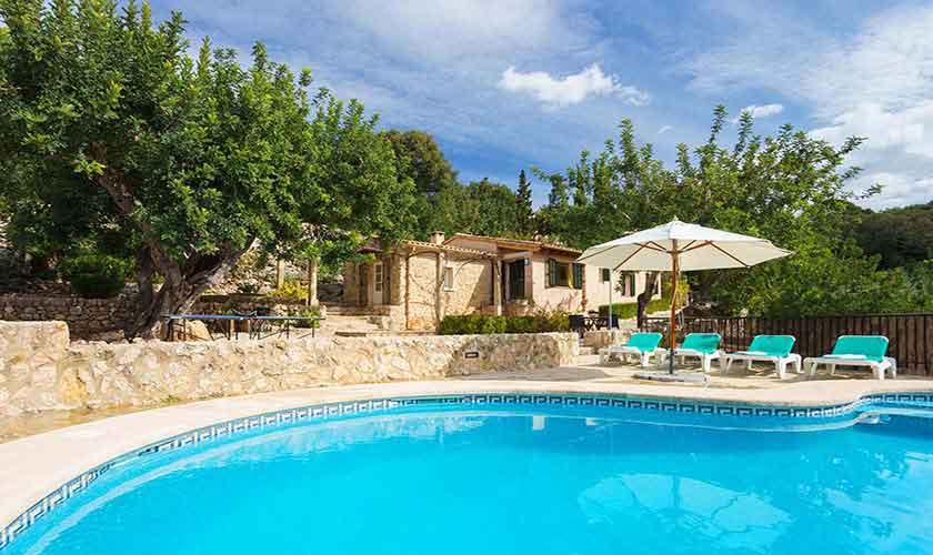 Pool und Finca Mallorca Norden PM 3435