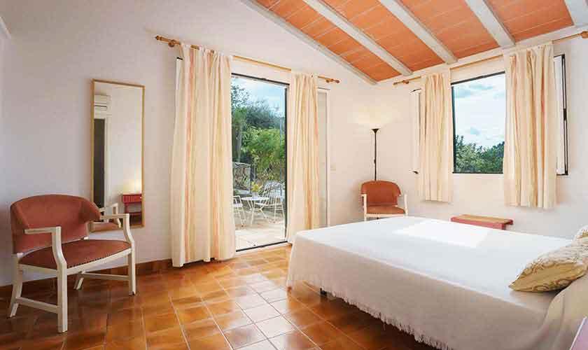 Schlafzimmer Finca Mallorca Norden PM 3435