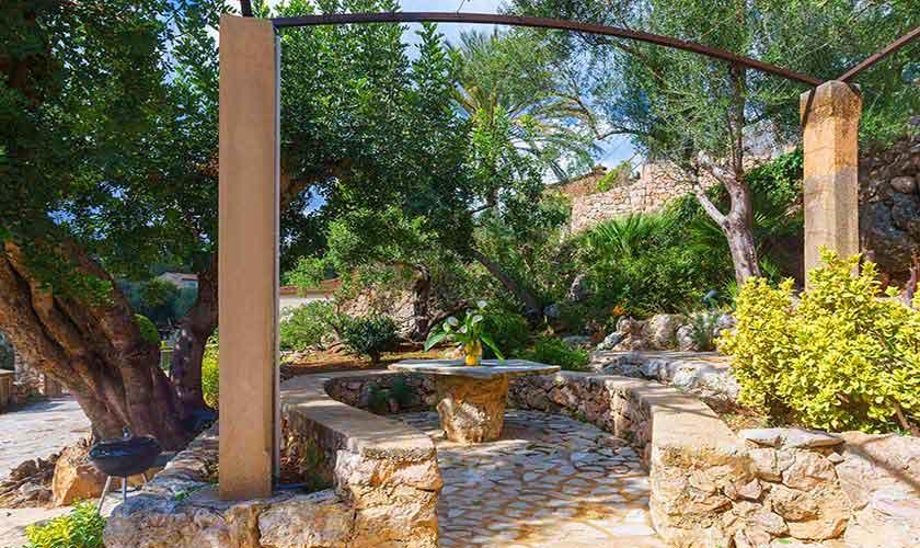 Gartenterrasse Finca Mallorca Norden PM 3435