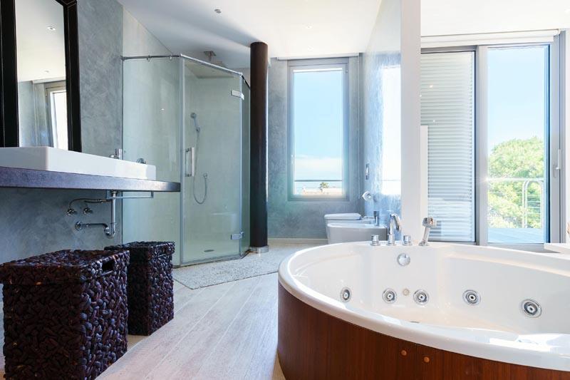 Badezimmer Villa Mallorca Nordküste PM 3479