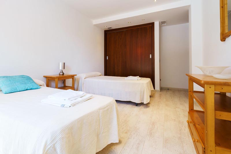 Schlafzimmer Villa Mallorca Nordküste PM 3479