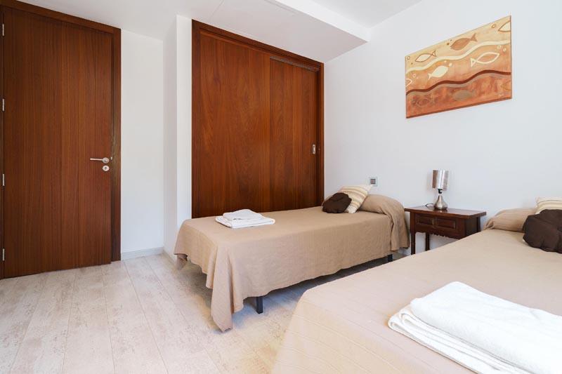 Schlafzimmer Villa Mallorca am Strand PM 3479