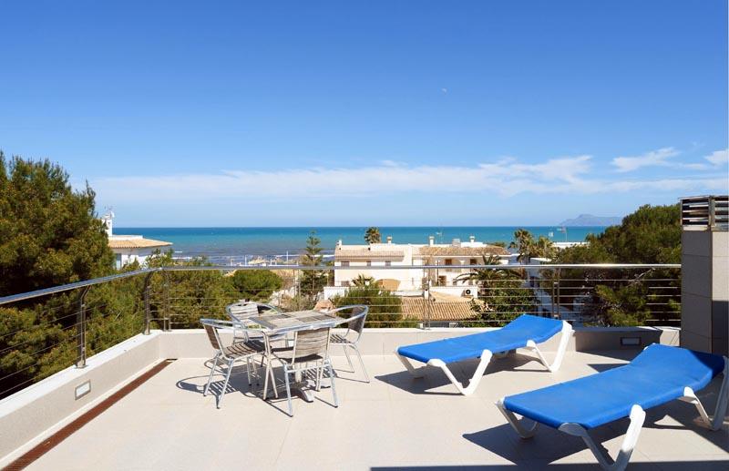 Meerblick Villa Mallorca Playa de Muro PM 3479