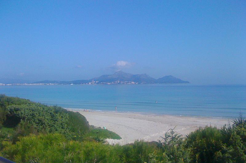 Blick auf das Meer Ferienhaus Mallorca Playa de Muro PM 3480 für 8 Personen