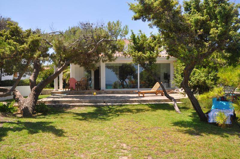 Blick auf das Ferienhaus Mallorca Playa de Muro PM 3480 für 8 Personen