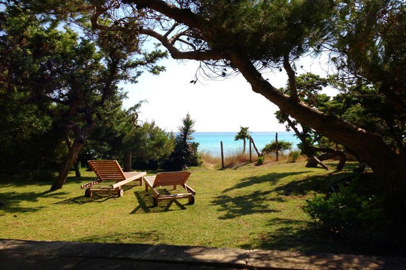 Liegen und Meerblick Ferienhaus Mallorca Playa de Muro PM 3480 für 8 Personen