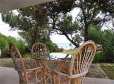 Terrasse 3 Ferienhaus Mallorca Playa de Muro PM 3480 für 8 Personen