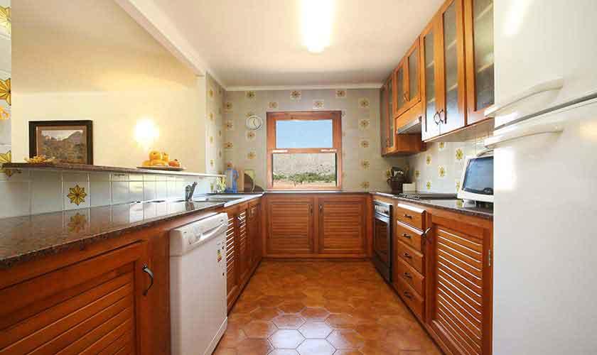 Küche Finca Mallorca 8 Personen Pool PM 3560