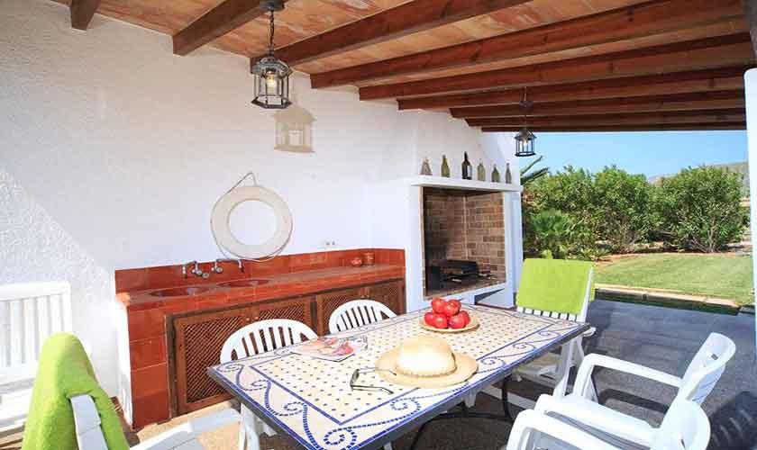 Terrasse Finca Mallorca Pollensa PM 3560