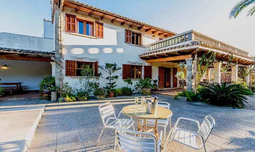 Terrasse Ferienhaus Mallorca 8 Personen PM 3561