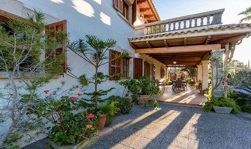Terrasse Ferienvilla Mallorca 8 Personen PM 3561