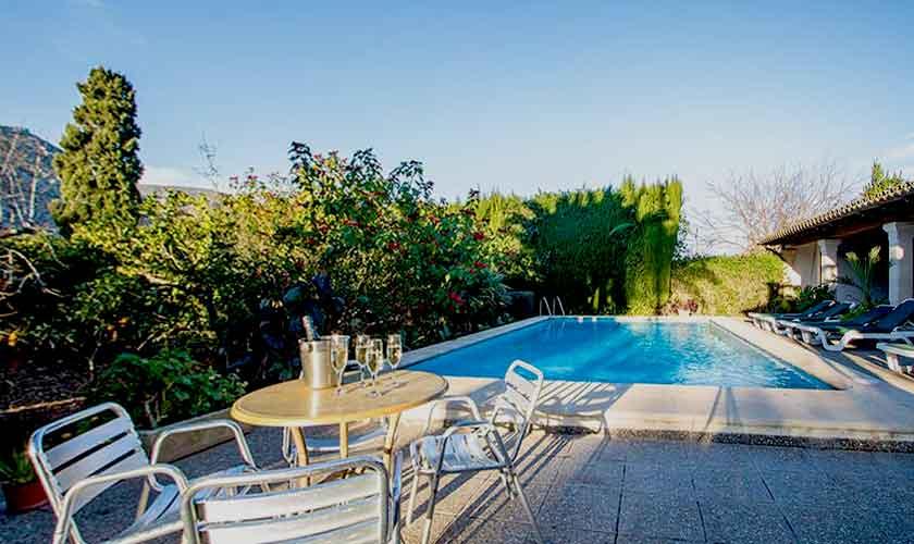 Poolblick Ferienvilla Mallorca 8 Personen PM 3561