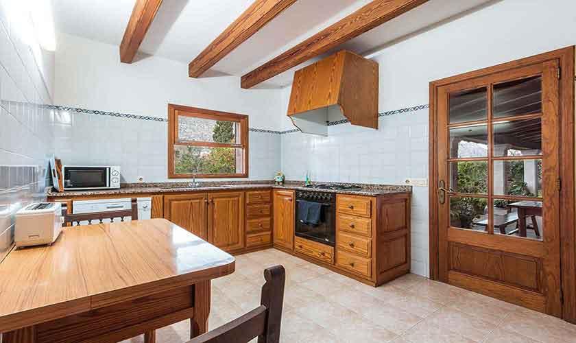 Küche Ferienhaus Mallorca 8 Personen PM 3561