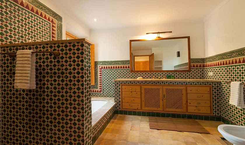Badezimmer Landhaus-Villa Mallorca PM 3740