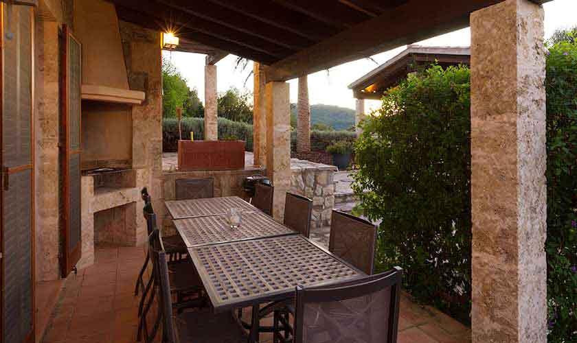 Terrasse Ferienvilla Mallorca PM 3740