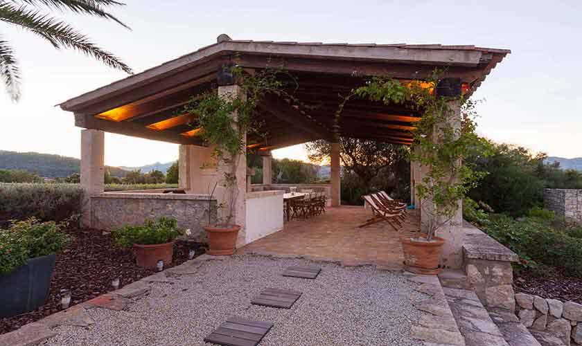 Terrasse Landhaus-Villa Mallorca PM 3740