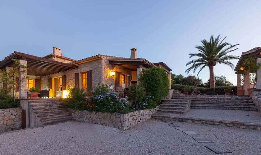Blick auf die Ferienvilla Mallorca PM 3740