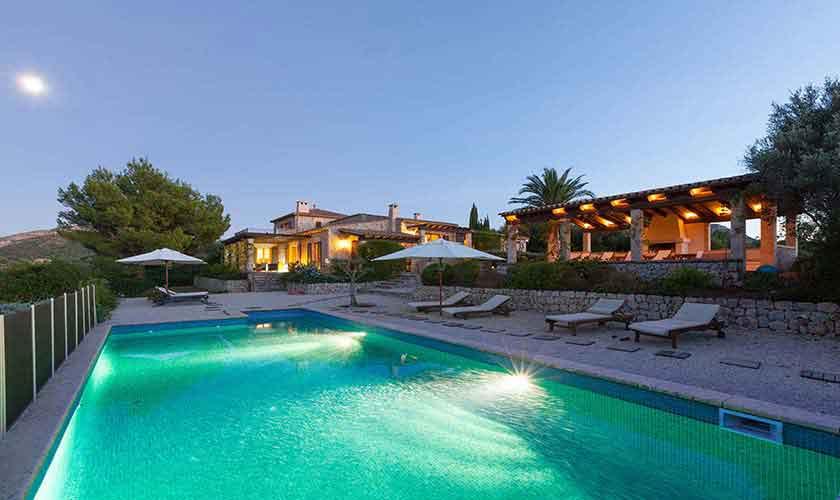Pool und Ferienvilla Mallorca PM 3740